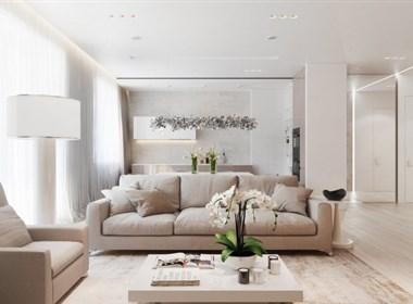 简约别致的现代公寓设计欣赏