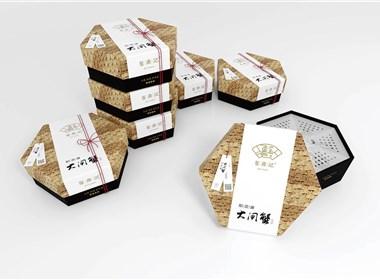 蓝堂™新作|蟹鼎记阳澄湖大闸蟹/礼盒包装设计