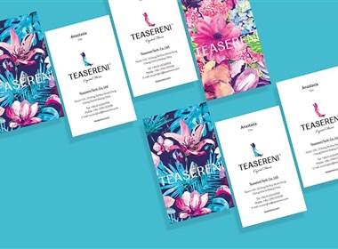 """一杯香茗 我的时间-智远国际为香茗花园""""立体花饮""""品牌设计的全新作品分享"""