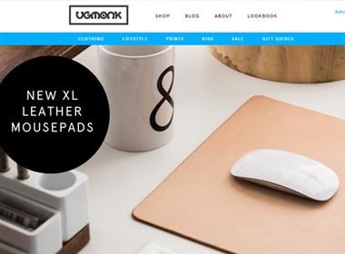 20个国外漂亮的电商网站设计欣赏