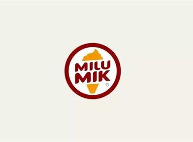 米路米可冰淇淋形象设计