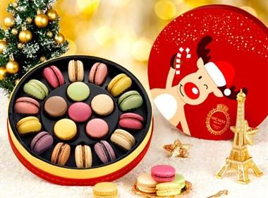 梦幻圣诞马卡龙礼盒包装