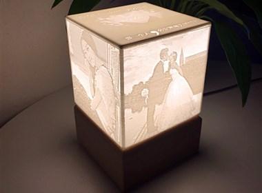 意尔·3D打印浮雕夜灯