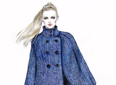 手绘——秋冬系列服饰