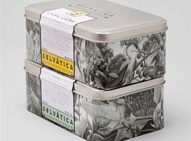 selvatica水果茶品牌包装设计