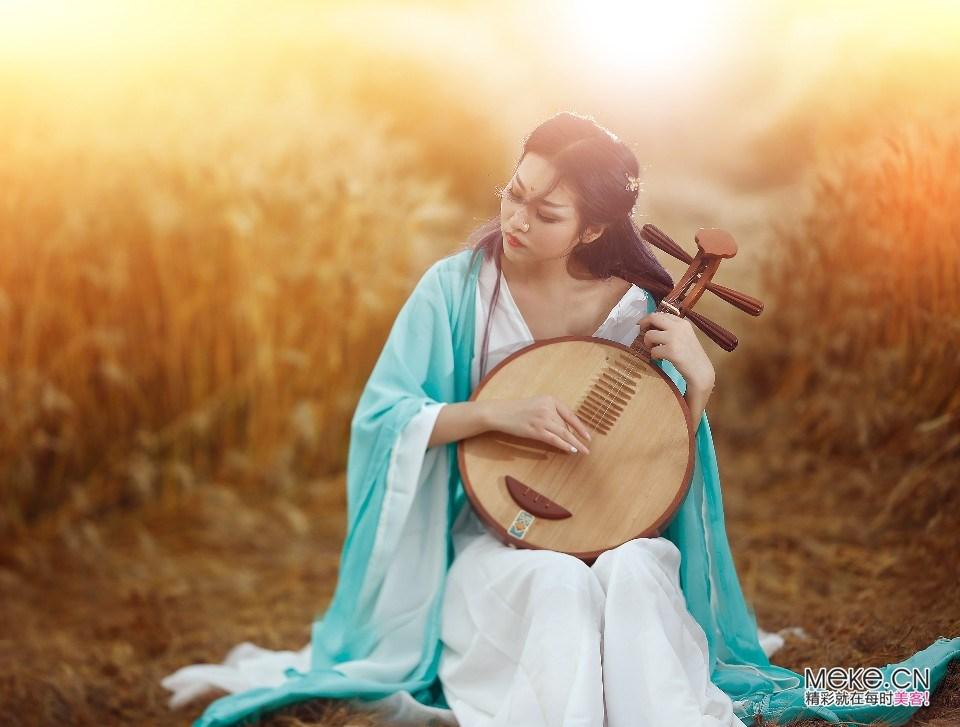 视觉中国中国风原创女装灵感图