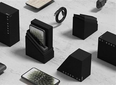 高级手机UI / ID +智能手机的概念