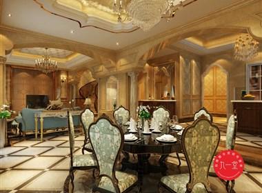 金帝别墅设计.私家会所设计.室内设计.九一堂品牌策划设计