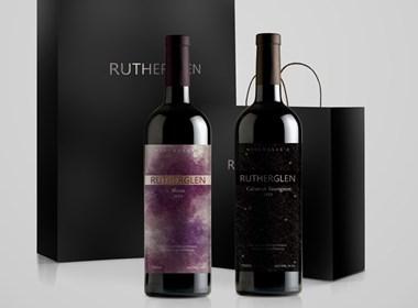 rutherglen红酒瓶贴概念稿设计