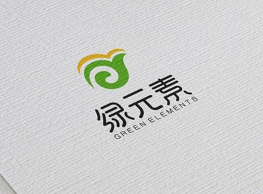 绿元素标志设计