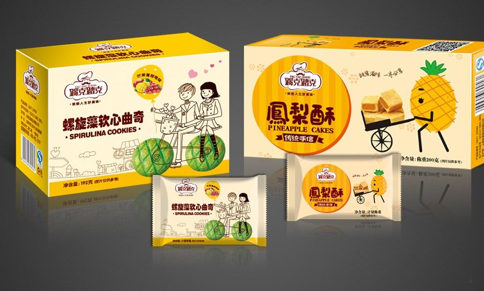 【百纳食品包装设计】踢克踏克品牌整合案例