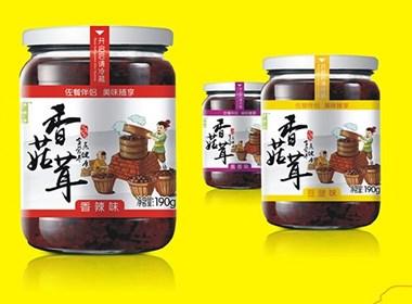 包装设计公司|元味九朴香菇茸包装设计