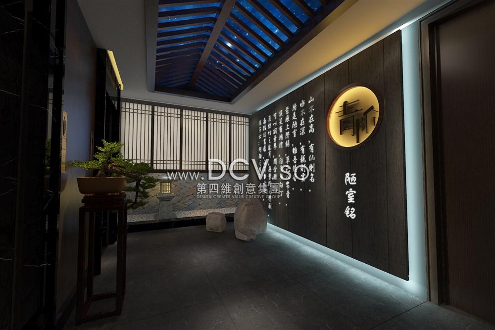 西安主要没有比这更牛的中式禅意餐厅v禅意平面设计好学吗绝对学什么图片