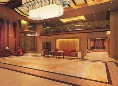 新中式酒店装修设计_开封御都大酒店