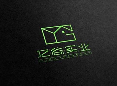 亿谷实业  标志设计
