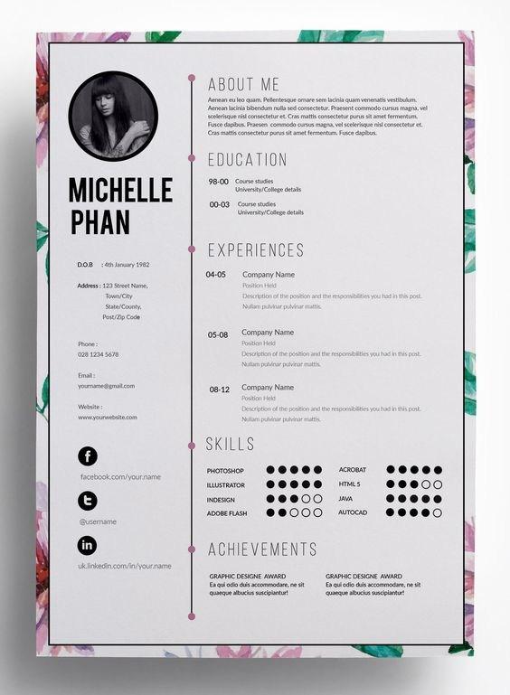 简历设计,设计师必备之技能
