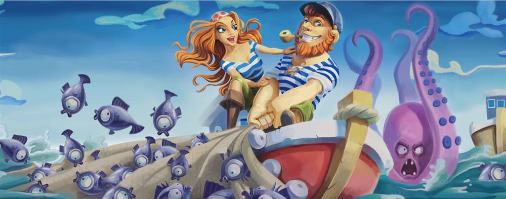 海姑娘与水手
