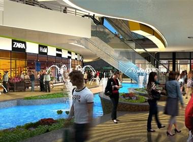 上海泰格数码  三维效果图  房地产动画