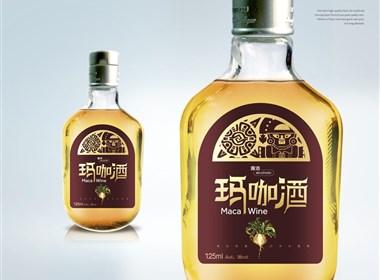 蓝宝酒业保健饮品包装设计