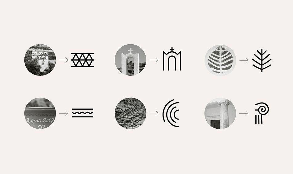 成都摩品品牌设计公司-Sifnos Island视觉识别设计欣赏分享