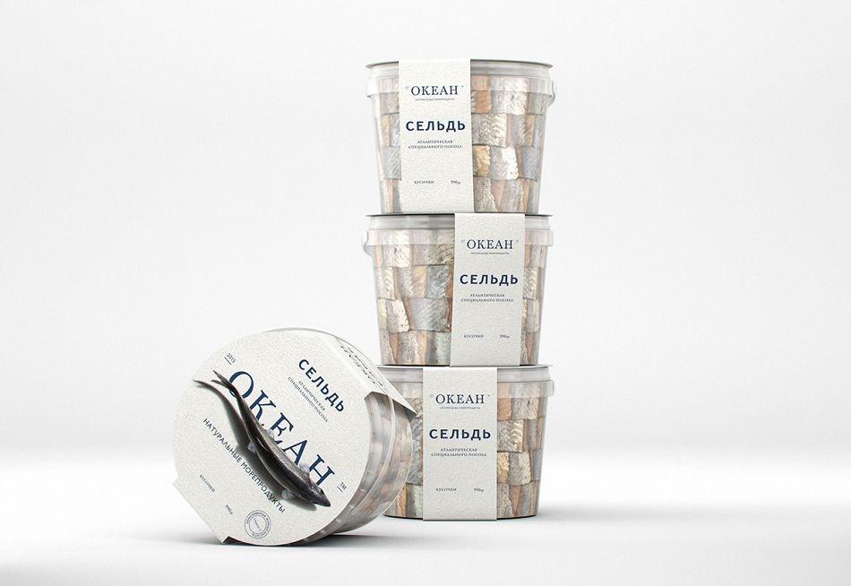 成都摩品包装设计公司-Ocean海产品品牌包装设计欣赏分享