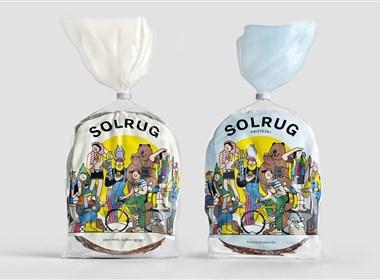 成都摩品包装设计公司-Solrug面包包装设计欣赏分享