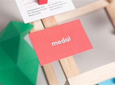 成都摩品VI设计公司-Medal教育系统VI形象设计欣赏分享