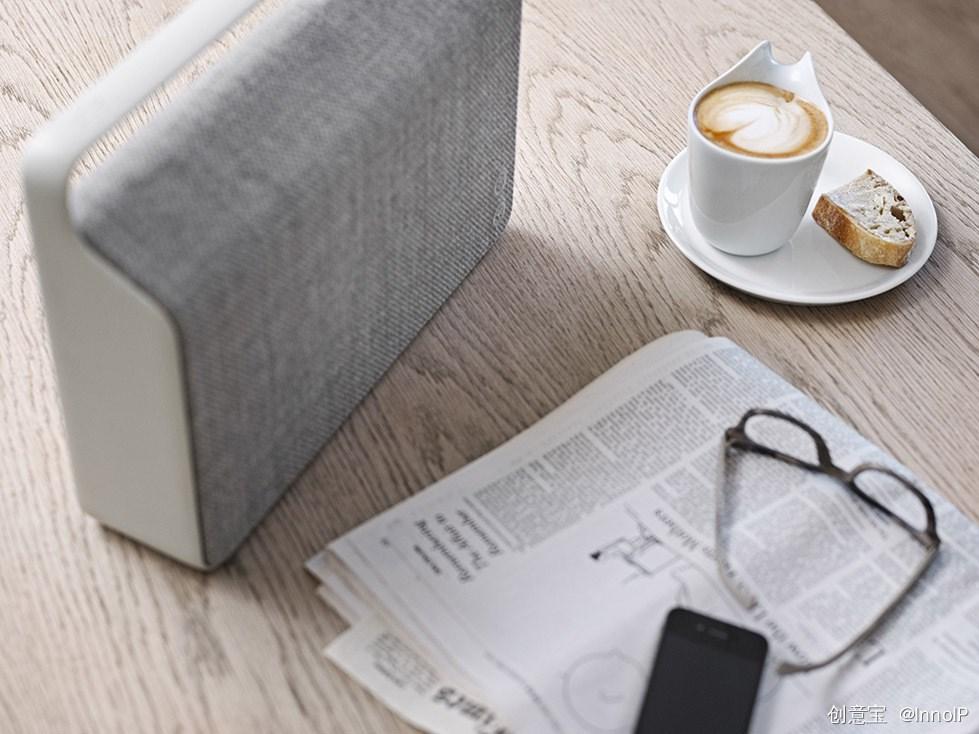 长得像时尚手袋的音箱,名叫哥本哈根