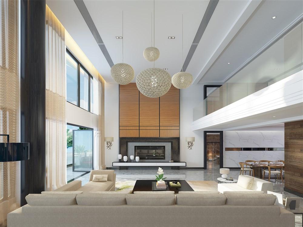 北欧复式别墅-中国设计网图片