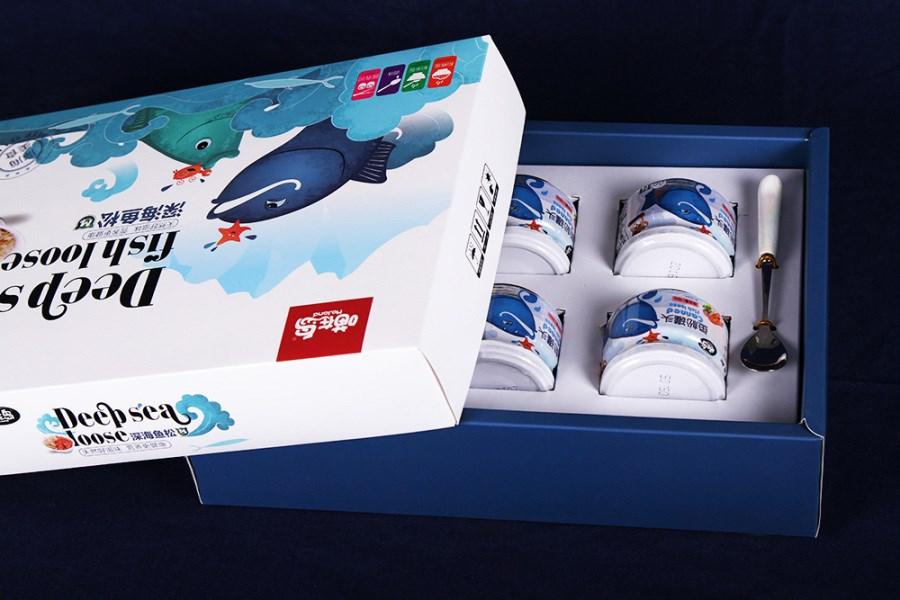 鱼松包装 海鲜礼盒 零食包装 特产
