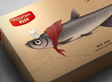 有民洈水鱼包装设计