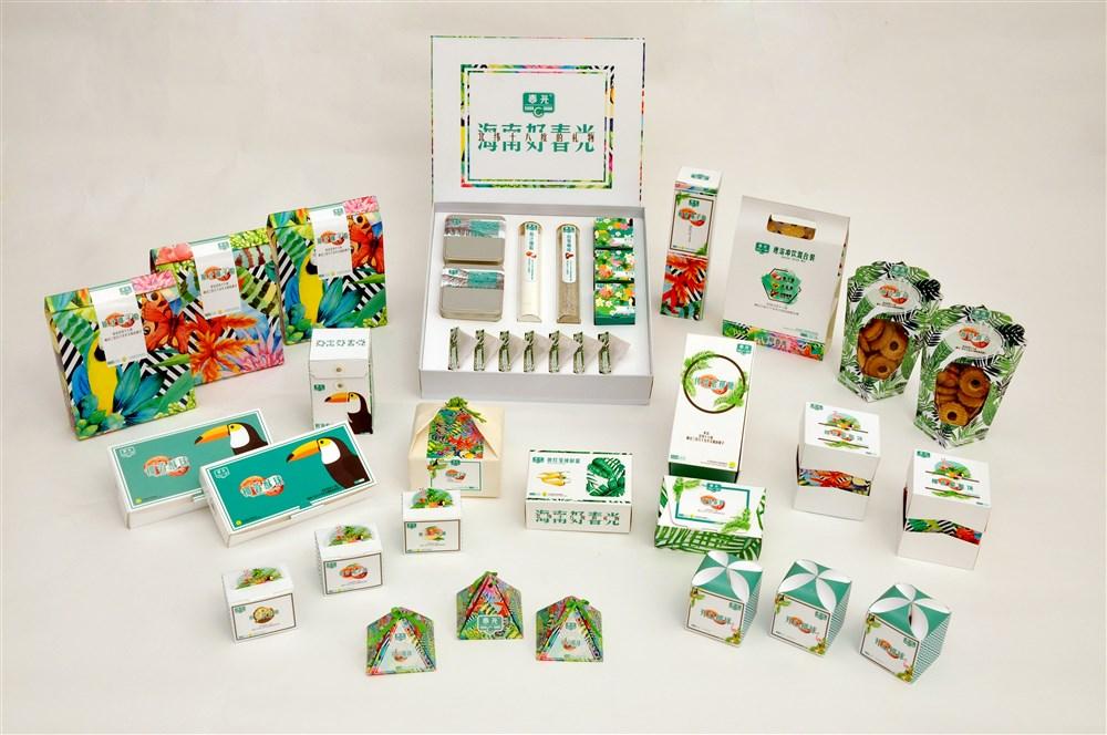 春光牌海南特产系列化包装设计
