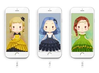 《鸟儿新娘》手机壁纸系列