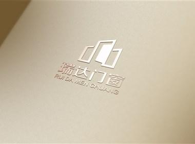 家装建材行业  瑞达门窗logo设计------华慕设计