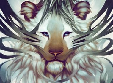 Jade Mere神秘梦幻的野兽插画作品
