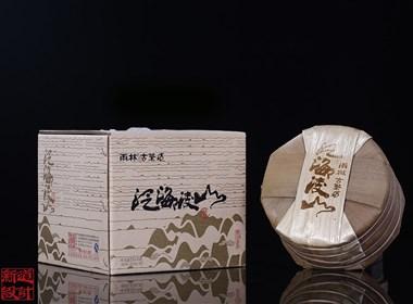 古树普洱茶泛海凌山茶叶包装设计 棉纸设计 昆明茶叶包装设计