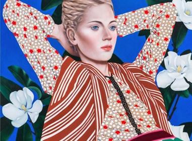 肖像绘画作品欣赏