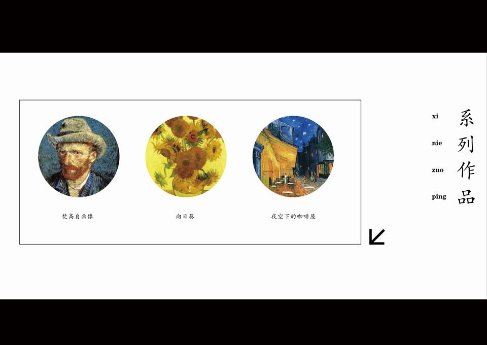 向大师致敬第二期——梵高《自画像》