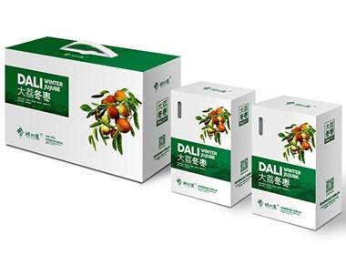 冬枣包装设计   西安本易品牌机构 