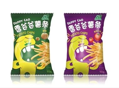 曹爸爸薯条包装设计|美御品牌策划设计