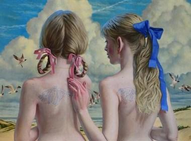 Jana Brike 的个人绘画作品欣赏