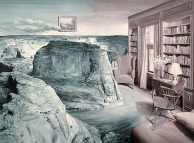 Paco Pomet的超现实油画作品