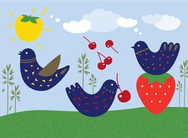 简美的Oatbirds燕麦奶包装欣赏