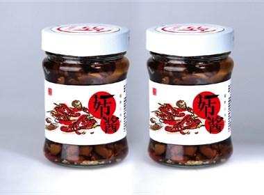 阿素生活-菇酱系列产品包装设计