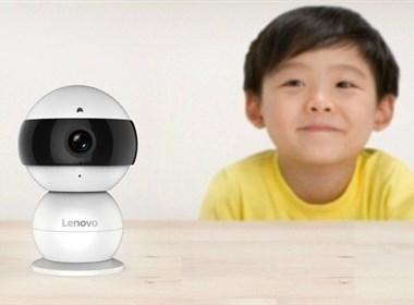 联想snowman智能监控看家宝工业设计