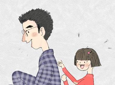平板涂鸦绘制菲言菲语——《给爸爸捶捶》