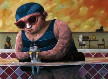 美国艺术家:Nathan Durfee(内森·德菲)超现实主义绘画