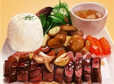 绘画--食物