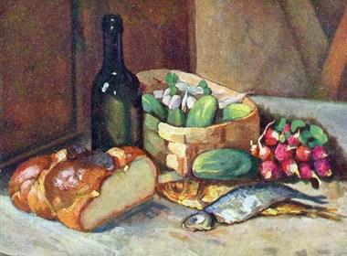 俄罗斯画家Ilya Mashkov油画作品