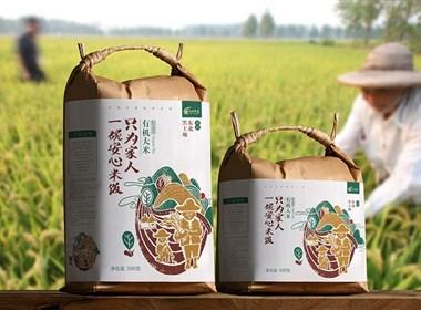 大米包装设计-天地农道